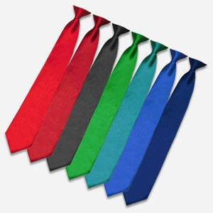 Clip on Krawatten
