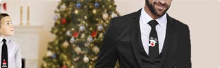 Weihnachtskrawatten