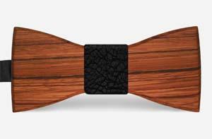 houten vlinderstrikken