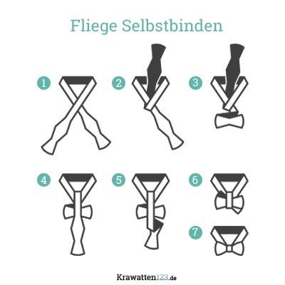 Fliege binden in 7 Schritten