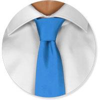 Kleine Krawattenknoten