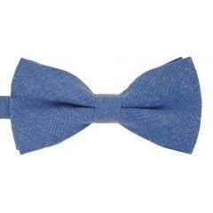 blaue Baumwolle Fliege
