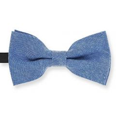 blaue Kinderfliege Baumwolle