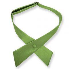 Damenkrawatte gras grün