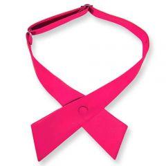 Damenkrawatte neon rosa