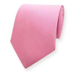 Krawatte gestreift rosa fine line