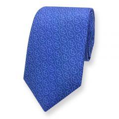 hellblaue Krawatte blau