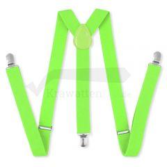 Hosenträger neon grün