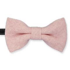 Kinder Fliege Wolle rosa