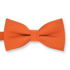 Kinderfliege orange fine line
