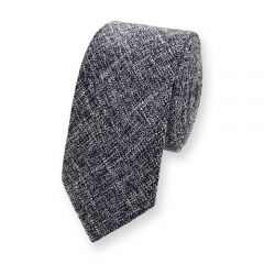 Baumwolle Krawatte denim blau