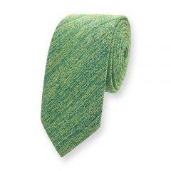 Baumwolle Krawatte grün gelb