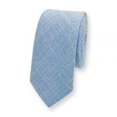Baumwolle Krawatte hellblau