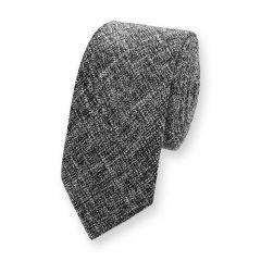 Baumwolle Krawatte schwarz weiß