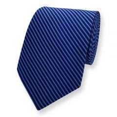 Krawatte Blau Stripe