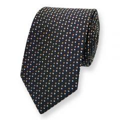 Krawatte braun gepunktet ExvE