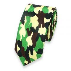 Krawatte Camouflagemuster