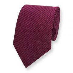 Krawatte Dunkelblau Dunkelrot