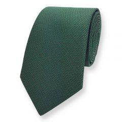 Krawatte dunkelgrün Motiv ExvE