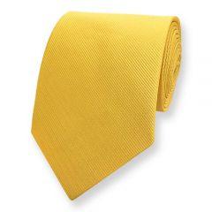 Krawatte gestreift gelb fine line