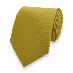 Krawatte gestreift gold fine line