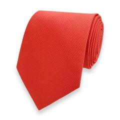 Krawatte gestreift rot fine line