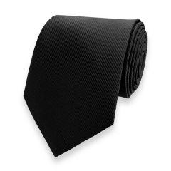 Krawatte gestreift schwarz fine line
