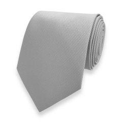 Krawatte Fine Line Silber
