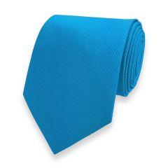 Krawatte gestreift himmelblau fine line