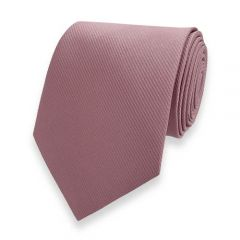 Krawatte Fine Line Altrosa