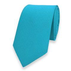 Krawatte schmale türkis 6cm