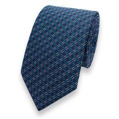 Krawatte türkis blau gestreift