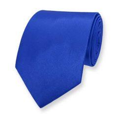 Krawatte blau einfarbig
