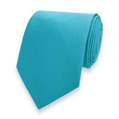 Krawatte gestreift türkis fine line