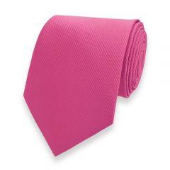 Krawatte gestreift neon rosa fine line