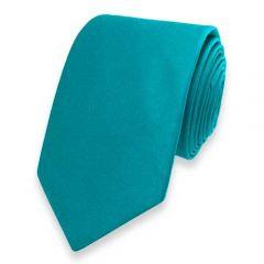 Krawatte petrol Seide