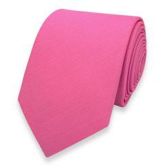 Krawatte rosa Seide