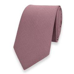 schmale Krawatte altrosa