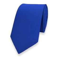 schmale Krawatte blau