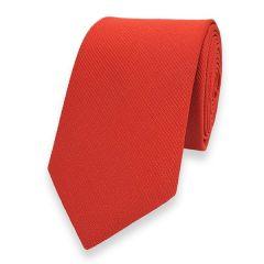 schmale Krawatte rot 6cm